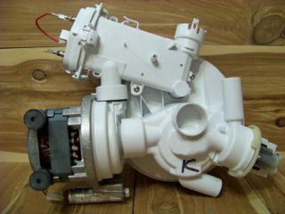 Bosch Dishwasher Circulation Pump Motor Assembly 263835