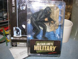 MCFARLANE MILITARY NAVY SEAL MINT SERIES DEBUT