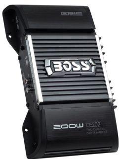 New Boss CE202 200W 2 CH Car Audio Amplifier Amp 2 Channel 200 Watt