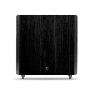 boston acoustics cssub10b classic series powered subwoofer black the