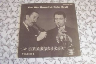 Pee Wee Russell Ruby Braff Jazz at Storyville 1 LP DG