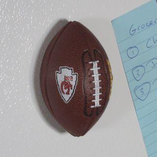 Kansas City Chiefs Mini Football Bottle Opener Hand Held Fridge Magnet