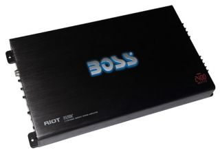 BOSS AUDIO R12002 NEW 2400W MOSFET 2 CHANNEL POWER AMPLIFIER REMOTE