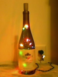 BOTTLE LIGHT Wine Multi Color lights