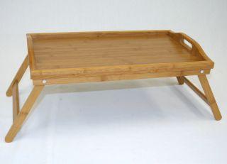 Folding Bamboo Bed Tray Breakfast Tray