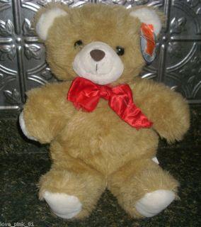 Lemonwood Asia Vintage My Toy Brown Teddy Bear Stuffed Animal Plush