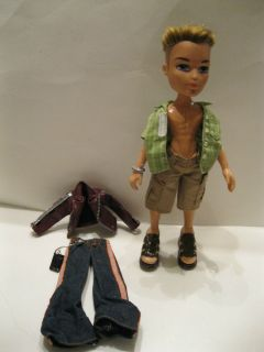 Bratz Boyz Guy Cameron Doll Dressed with Shoes & extra outfit