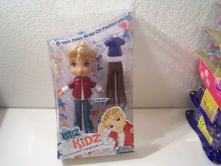 Bratz Boyz Kidz Cameron Doll Snap on Fashion New
