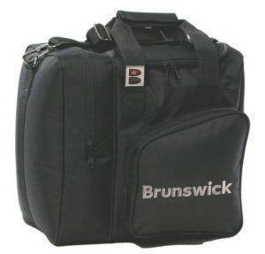 Brunswick Xline Single Bowling Ball Bag Black