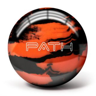 Pyramid Path Orange Black Bowling Balls 14lb