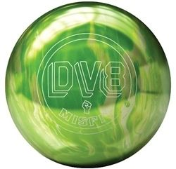 DV8 Misfit Green White Bowling Ball 14 lb Brand New in Box
