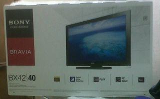 """Sony Bravia LCD TV 40"""" KDL40BX4201"""