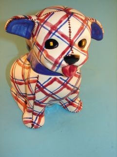Art Pottery Brayton Laguna Dog 1943 Cookie Jar