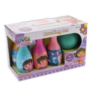 Kids Toy Bowling Set Choose Style Disney Pixar Dora Hello Kitty