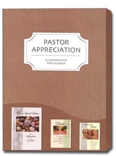 Pastor Appreciation Boxed Greeting Cards Box of 12