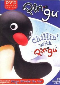 pingu chillin with breaks the ice dvd new chilling