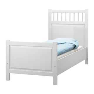 IKEA Hemnes Twin Bed Frame Mattress and Box Spring