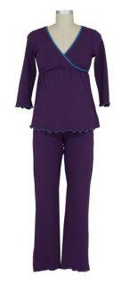 New 2pc Japanese Weekend Maternity Nursing Pajamas Lot