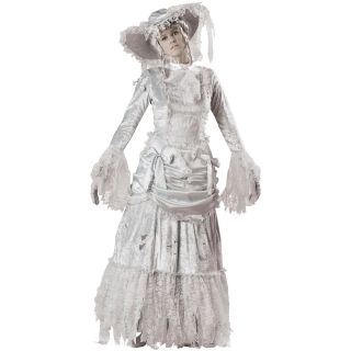 Womens Victorian Bride Deluxe Halloween Costume Std Plus Size
