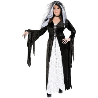 Bride of Darkness Adult Womens Gothic Mistress Halloween Costume Std
