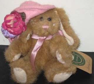 Boyds Bears Retired Plush Bunny Lucy P