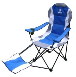 CHAIR WITH FOOTREST PERFECT FOR CAMPING, FISHING, BEACH & TAILGATING