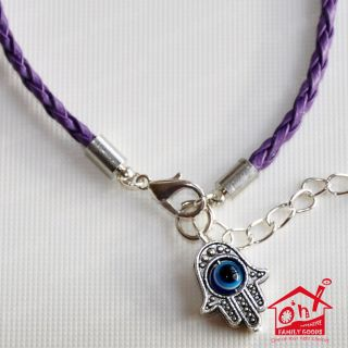 Hamsa Hand Fatima Evil Eye Star of David Religious Friendship Bracelet