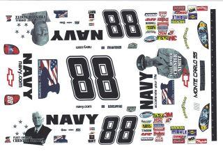 88 Brad Keslowski Navy 2008 1 32nd Scale Slot Car Decals