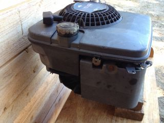 Briggs Stratton 5HP Vert Engine Model 124782 with Side Shaft Quatum
