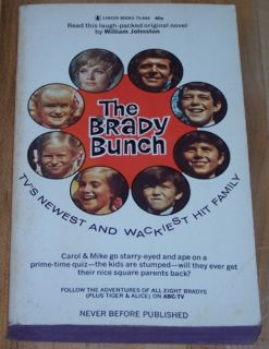 the brady bunch by william johnstone paperback wear along the edges
