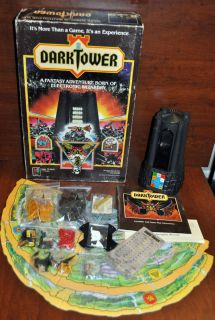 DARK TOWER Electronic Fantasy Role Play RPG Board Game 1981 Milton