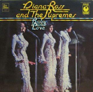 Diana Ross The Supremes Vinyl LP Baby Love Tamla Motown SPR 90001 VG