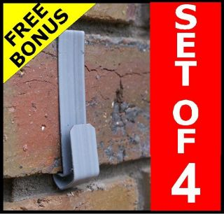 New No Tools Brick Wall Hooks Metal Picture Hanger