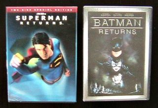 BATMAN RETURNS 2 DVD 2 DISC COLLECTIONS BRANDON ROUTH MICHAEL KEATON