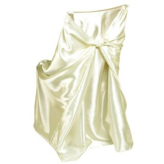 Universal Chair Cover IVORY High Quality For Wedding Shower or Party
