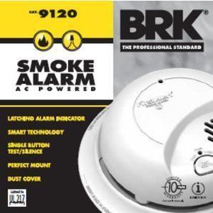 BRK First Alert Smoke Alarm AC Powered Easy Installation & Maintenance