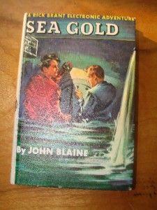 14 Vintage Boys Book Lot Rick Brant Tom Swift Jr Hardy Boys Set B5C