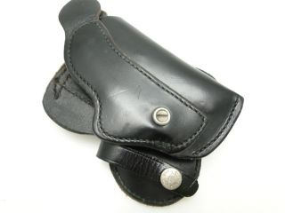 BRAUER H40 LEATHER HOLSTER Smith & Wesson J Frame Colt Agent 2