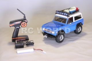 RC 1/10 TAMIYA TRUCK FORD BRONCO RC4WD ROCK CRAWLER 2.4GHZ RTR *BRAND