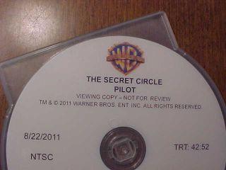 The Secret Circle TV Series Pilot DVD Britt Robertson