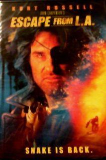 John Carpenters Escape from L A 1996 Kurt Russell Steve Buscemi Bruce