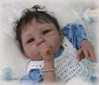 Reborn Doll Kit Brea by Lorna Miller Sands in Biracial Vinyl Makes A