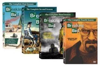 New Breaking Bad DVD 1 4 Season 1 2 3 4 Seasons