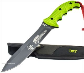 Browning Zombie Apocalypse Knife Combat Fighting Fixed Blade Survival