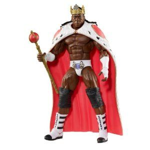 WWE Mattel Action Figure Brooker T Elite Collection Flashback Series
