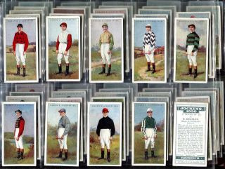 Tobacco Cards Ogden Jockeys 1930 Horse Racing Jockey NR