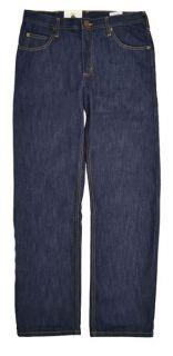 New Mens Lee Brooklyn Indigo Dark Wash Blue Denim Jeans