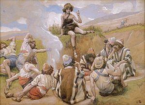 joseph reveals his dream to his brethren first reading genesis