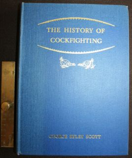 of Cockfighting George Ryley Scott Game Fowl Old English Ltd Ed