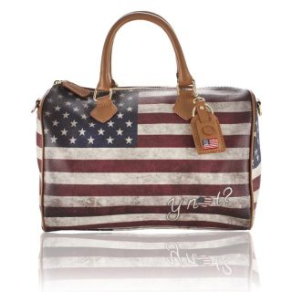 not Woman Large Hobo Bag with Flags Print F321 New Collection Best